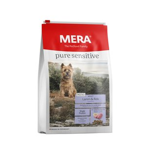 Mera pure sensitive Mini Lamm & Reis 4 kg
